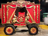 Museum visitors can get up close and personal with original circus train cars used in the Ringling Bros. Circus.(IttyBittyFoodies.com)