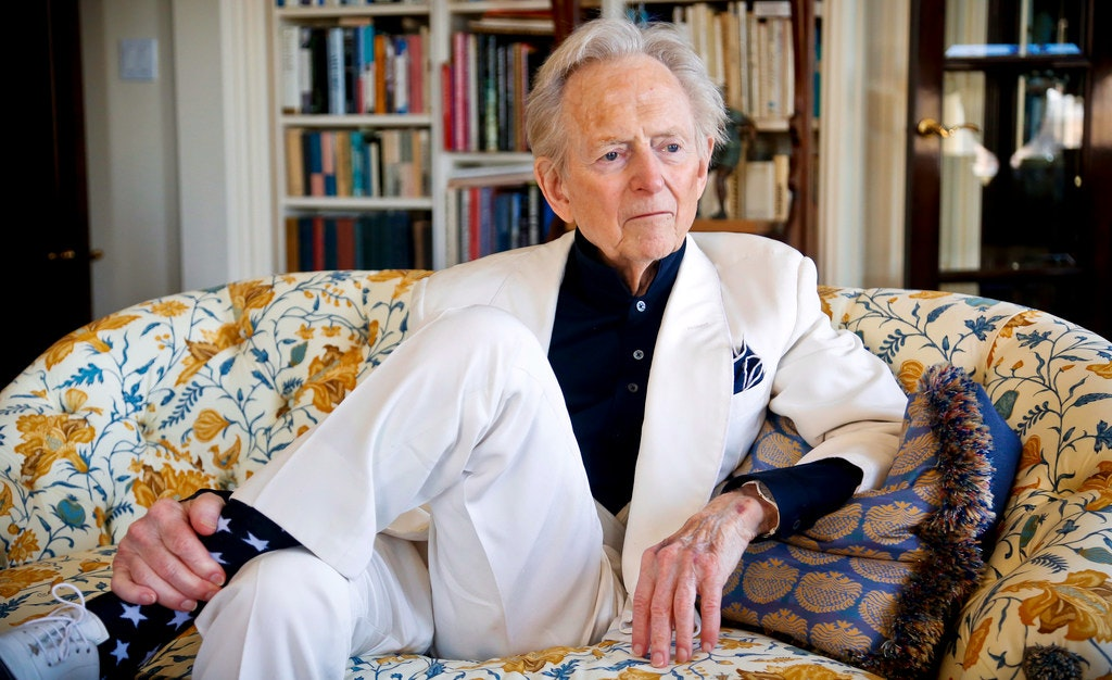 Author Harvey Wolfe >> Tom Wolfe Pioneering New Journalist Who Wrote The Bonfire Of The