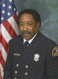 J.V. Smith, pictured in the Dallas Fire-Rescue 2010 yearbook. (Courtesy of David Baker)
