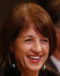 Former Richardson Mayor Laura Jordan, then named Laura Maczka(Andy Jacobsohn/Staff Photographer)