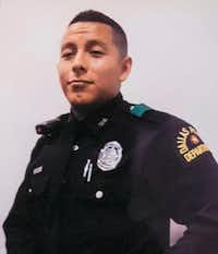 Officer Rogelio Santander was shot and killed last month at a Home Depot in Dallas.