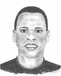 Police released a composite sketch of the victim found dead in White Rock Creek on Saturday. Anyone who recognizes the victim is asked to contact Dallas police.(Dallas Police Department)