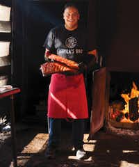 "Chef and restaurateur Adrian Davila of Seguin, TX, is the author of ""Cowboy Barbecue: Fire and Smoke from the Original Texas Vaqueros.""(Pauline Stevens/The Countryman Press)"