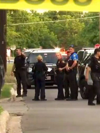 Man wounded, in custody after firing at officers during chase across 2 Tarrant County cities