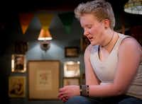 Zander Pryor, a transgender teen, portrays a transgender teen in the regional premiere of Taylor Mac's <i>Hir </i>at Stage West Theatre in Fort Worth.(Robert W. Hart/Special Contributor)