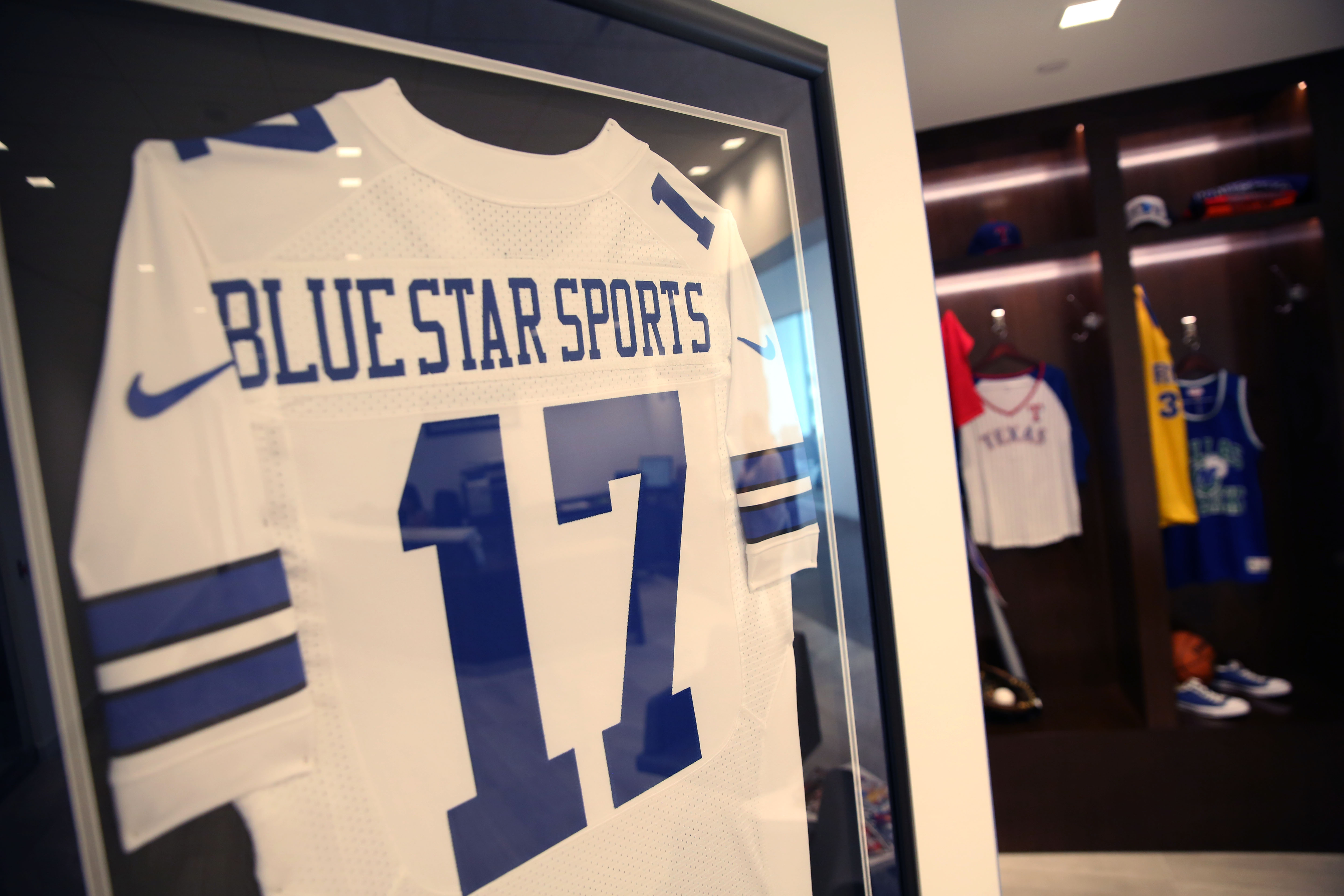 Cowboys who? Fast growing Blue Star Sports hangs up jersey on team