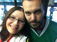 Amanda Simpson and Justin Painter (Facebook)