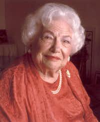 Liz Carpenter, Robert Walden's late mother-in-law(File photo)