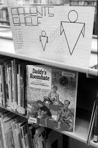 """""""Daddy's Roommate,""""a book by  author Michael Willhoite, tells the story of a boy whose divorced father is in a relationship with another man<span style=""""background-color: transparent; font-size: 0.6875rem;"""">.</span>(DMN file photo)"""
