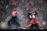 Fana Fraser and Beatrice Capote of Camille A. Brown & Dancers in the choreographer's <i>BLACK GIRL: Linguistic Play </i>will open the TITAS season in August.(Christopher Duggan)