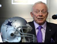 Dallas Cowboys owner Jerry Jones (AP Photo/Richard W. Rodriguez)(Richard W. Rodriguez/AP)