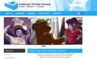 A screen grab from the website for Anderson Private School. A Dallas civil jury found a teacher, Alexander Anderson, sexually assaulted an 11-year-old boy with autism on a field trip. No criminal charges were filed against the teacher and his attorney said Anderson did not sexually assault the boy.