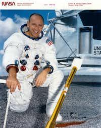 Alan Bean - astronaut / official NASA photograph, November 1969
