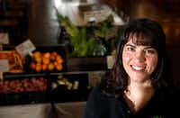 Susie Marshall at Market Provisions at the Dallas Farmers Market.(Vernon Bryant/Staff Photographer)