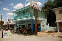 The exterior of The Farmacy in Edom, Texas.(Andy Jacobsohn/Staff Photographer)