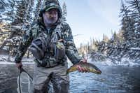 Winter fly fishing on the Gallatin River is a perennial favorite pastime.(Brian Irwin/Special Contributor)