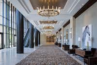 """The new Vineyard Tower adds meeting space and """"pre-function"""" space for receptions.(Gaylord Texan)"""