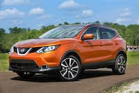 Nissan Rogue Sport, which is slightly smaller than the Rogue, is designed for active urban lives.(Nissan)
