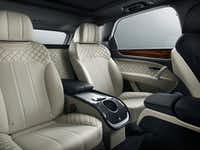 The Bentley Bentayga Mulliner, which Bentley calls the Ultimate Luxury SUV, comes with a bespoke embroidered interior.(Bentley)