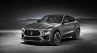 The 2018 Maserati Levante Trofeo, which has a V8 engine.(Maserati)