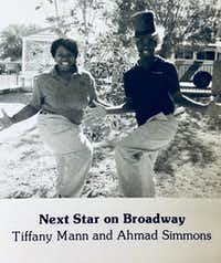 Tiffany Mann and Ahmad Simmons (from the Fort Worth Academy of Fine Arts yearbook of 2006).(Fort Worth Academy of Fine Arts)