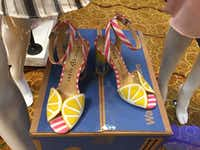 Katy Perry shoes are among the new fashion brands that Walmart is adding online from a partnership with New York department store Lord & Taylor. (Maria Halkias/Dallas Morning News)