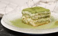 Matcha green tea tiramisu(Brian Elledge/Staff photographer)
