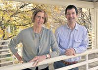 UT Southwestern Medical Center geneticists Helen Hobbs (left) and Jonathan Cohen. (UTSW)