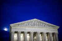 The U.S. Supreme Court is expected this month to rule on a critical case covering the online sales tax.(Al Drago/The New York Times)