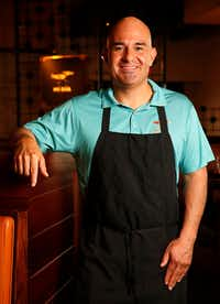 Chef Gabriel DeLeon at Mi Dia From Scratch in Plano(Rose Baca/Staff Photographer)