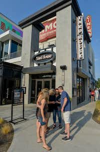 Yard House and Alamo Drafthouse Cinema near Big Beat Dallas, a music venue at the Toyota Music Factory in Las Colinas, are open for business. (Robert W. Hart/Special Contributor)(Robert W. Hart/Special Contributor)