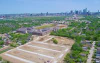 The SoHo Square community will be off Singleton Boulevard west of downtown Dallas.(Megatel Homes)