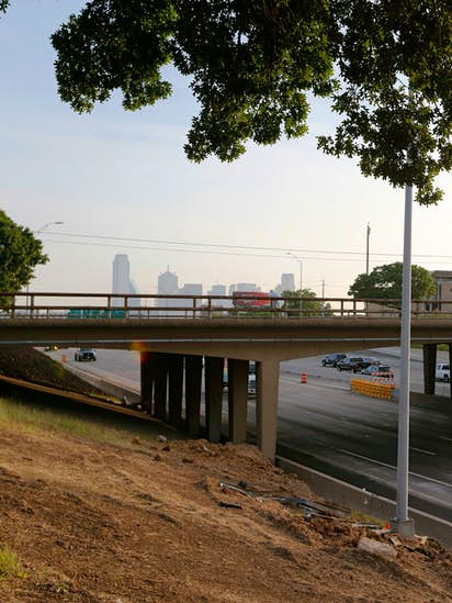 All lanes of I-35E will be shut down in Oak Cliff this weekend, and