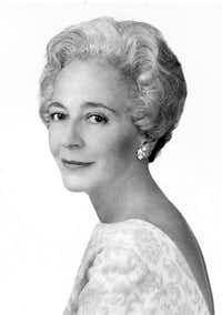 Margaret McDermott(The Dallas Morning News Archives)