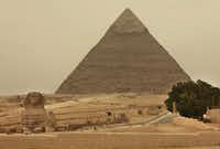 The ancient pyramids of Giza(Carolyn Cole/MCT)
