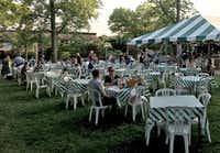 "<p><span style=""font-size: 1em; background-color: transparent;"">The experience includes pre-performance dinners on the beautifully landscaped lawns outside Webster University's Loretto-Hilton Center for the Performing Arts.</span></p>(Scott Cantrell/Special Contributor)"
