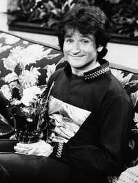 This 1978 file photo originally released by ABC shows actor Robin Williams on the set of ABCs <i>Mork &amp; Mindy</i>.&nbsp;(AP)