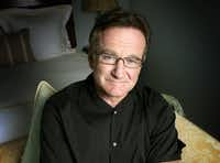 Robin Williams in 2007.  (Reed Saxon/The Associated Press)