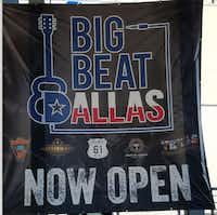 Billy Bob Barnett's Big Beat Dallas was open about two months before its abrupt closure last month.(Karen Robinson-Jacobs/DMN)