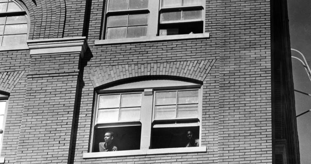 Lee harvey oswalds sniper perch from the school book depository is staff photographer gumiabroncs Gallery