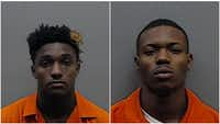 Kenyotta Henderson, 21, and Alvin Dunn Jr., 20, have been charged with aggravated assault with a deadly weapon.<br>(Smith County Jail<br>)