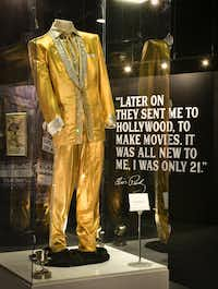Elvis Presley's jumpsuits are among the artifacts housed in a new 200,000 square foot addition to Graceland's entertainment complex showcasing his music and film careers.(Graceland)