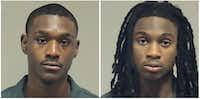 Sincere Wheat (left) and Jonathan Ekeocha-Ivy(Collin County Sheriff's Office)