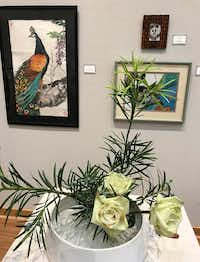 """From the TAO Arts exhibit, """"A Chinese Garden Party,"""" at the Irving Arts Center through July 8. (Deborah Fleck/Staff)"""