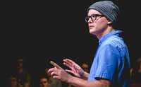 Zak Reynolds performs in  <i>Every Brilliant Thing </i>for Circle Theatre in Fort Worth.(Tim Long)