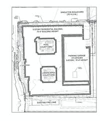 Stonelake Capital has filed preliminary plans for its West Dallas project with the city.(City of Dallas)
