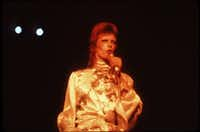David Bowie as Ziggy Stardust in an undated file photo.((DMN file))