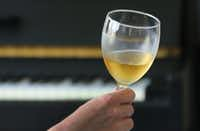 A look at a glass of wine(Louis DeLuca/Staff Photographer)