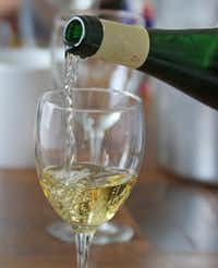The white wines proved to be surprisingly resilient.(Louis DeLuca/Staff Photographer)