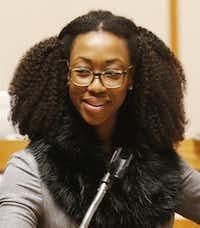 State District Judge Amber Givens-Davis(Michael Ainsworth/Staff Photographer)